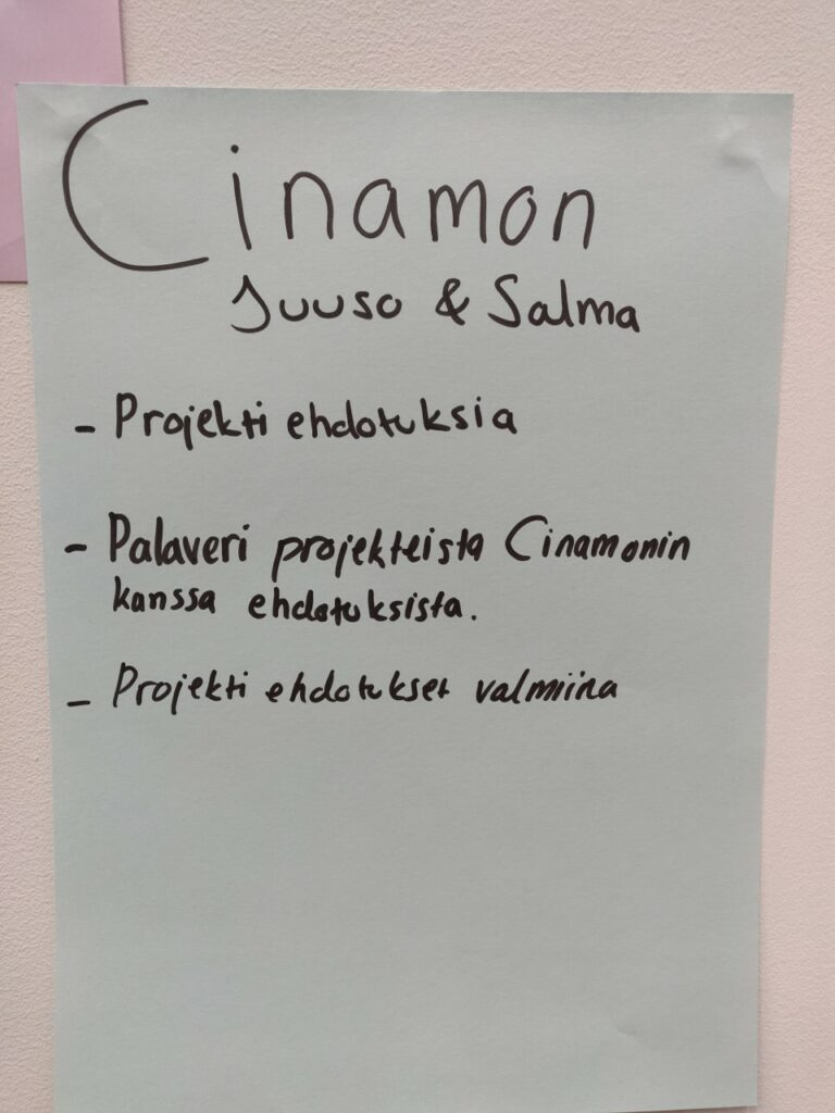 popup business college Cinamon